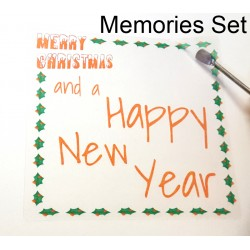 Easy Peel Self Adhesive Christmas Memories Set  - 7 Sheets